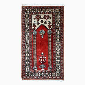 Vintage Handmade Turkish Konya Rug, 1970s