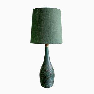 Lámpara de mesa española de cerámica de Serra, años 60
