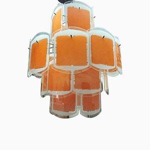 Lámpara colgante italiana Mid-Century, años 70
