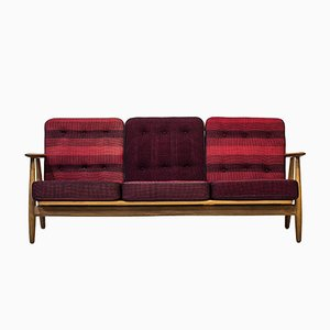 GE-240/3 Cigar Sofa by Hans J. Wegner for Getama, 1950s