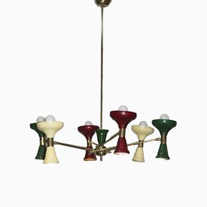 Mid-Century Italian Ceiling Light, 1950s