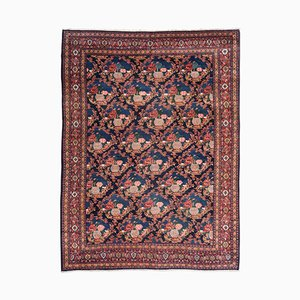 19th Century Middle Eastern Rug with Roses
