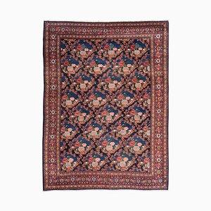 Orientalischer Teppich mit Rosen, 19. Jh.