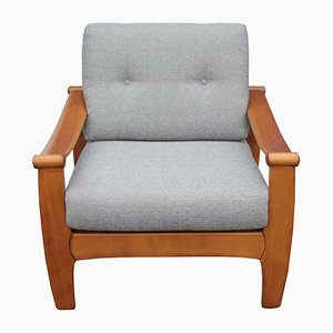Light Grey Easy Chair, 1960s
