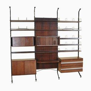 Urio Bücherregal aus Palisander von Ico & Luisa Parisi für MIM, 1960er