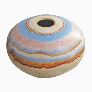 Vaso piccolo in ceramica di Kamini, anni '70