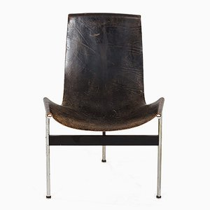 Vintage T-Chair by William Katavalos, Ross Littel, and Douglas Kelley for Laverne Int.