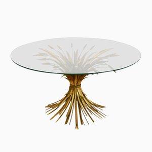 Table Basse Dorée, France, 1960s