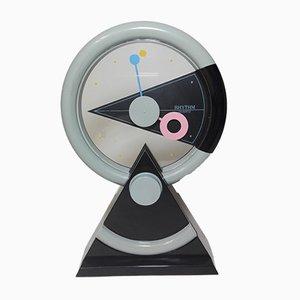 Japanese 4RP696 Rhythm Table Clock, 1990s