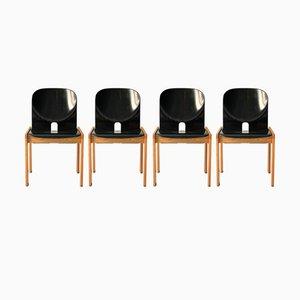 Chaises Modèle 121 par Tobia & Afra Scarpa pour Artemide, 1968, Set de 4
