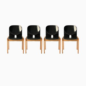 Model 121 Chairs by Tobia & Afra Scarpa for Artemide, 1968, Set of 4