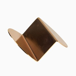 Copper Wave Business Card Holder by Nina Cho for Souda