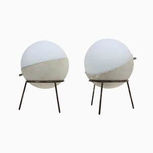 Tripod Table Lamps from Stilnovo, 1950s, Set of 2