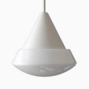 Lampe à Suspension Vintage en Métal & Verre de Limburg, 1980s