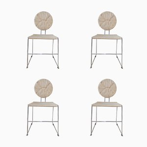Side Chairs by Kazuhide Takahama, 1970s, Set of 4