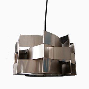 Französische Vintage Deckenlampe von Max Sauze, 1970er