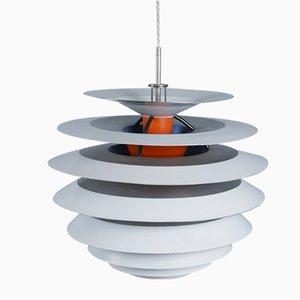 Lampe à Suspension Contrast Modèle PH Mid-Century par Poul Henningsen pour Louis Poulsen, Danemark