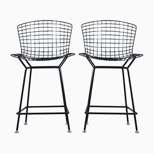 Tabourets de Bar 428 Vintage par Harry Bertoia pour Knoll International, Set de 2
