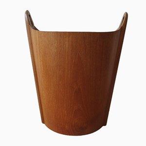 Waste Paper Basket by Einar Barnes for P S Heggen, 1950s