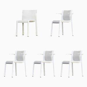 Esszimmerstühle von Ahrend DE Cirkel, 1990er, 5er Set
