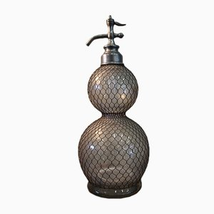 Antique French Gourd-Shaped Siphon Bottle