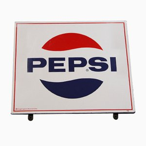 Vintage Pepsi Sign from Wiener Email Hölzl