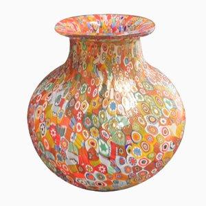 Jarrón de cristal de Murano, años 80