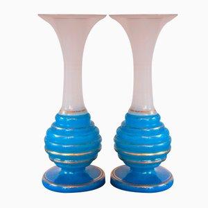 Antike Biedermeier Vasen, 2er Set