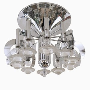 Ceiling Light by Gaetano Sciolari, 1960s