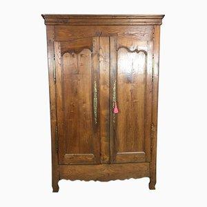 Armadio antico in legno di castagno