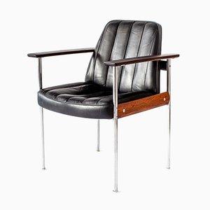 Fauteuil 1001 Vintage en Palissandre par Sven Ivar Dysthe pour Dokka