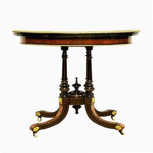Consolle o tavolo da gioco in stile Napoleone III