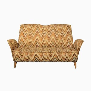 Italienisches Mid-Century Sofa von Nino Zoncada