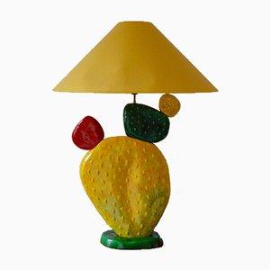 Lampe de Bureau Cactus Vintage par François Chatain, France, 1970s