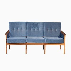 Vintage Drei-Sitzer Sofa von Walter Knoll