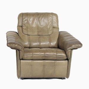 Club chair in pelle di de Sede, anni '70