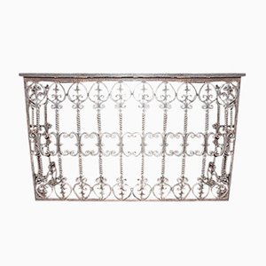 19th-Century Wrought Iron Console