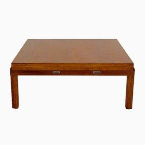 Oak Veneered Coffee Table by Johannes Spalt, 1960s