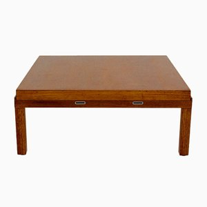 Table Basse en Placage de Chêne par Johannes Spalt, 1960s