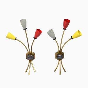 Wandlampen, 1950er, 2er Set