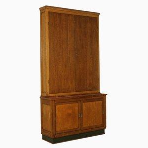 Vintage Italian Oak Cabinet, 1940s