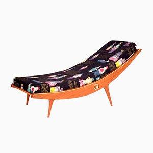 Sofá cama italiano, años 60