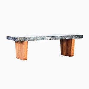 Tavolino da caffè in marmo, anni '60