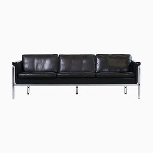 Ledersofa von Horst Brüning für Kill International, 1960er