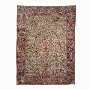 Antiker orientalischer Teppich mit floraler Verzierung, 1900er