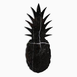 Pisapapeles de mármol negro en forma de piña de FiammettaV Home Collection