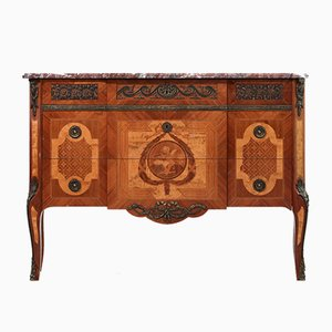 Antique Commode with Marble Top