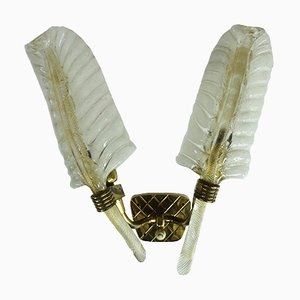 Wall Sconce by Ercole Barovier for Barovier & Toso, 1950s