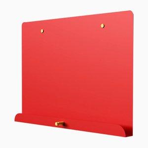 Pizarra magnética LDF Myosotis en rojo de Richard Bell para Psalt Design, 2012