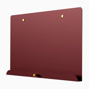 Maroon Myosotis Magnetic Notice Board by Richard Bell for Psalt Design, 2012